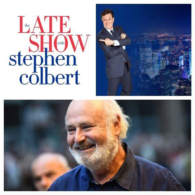 Tune in to THE LATE SHOW WITH STEPHEN COLBERT for an interview with Rob Reiner at 11:35PM ET/PT on CBS! #beingcharlie #may6th #RobReiner #stephencolbert