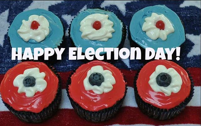 Happy Election Day America! #vote