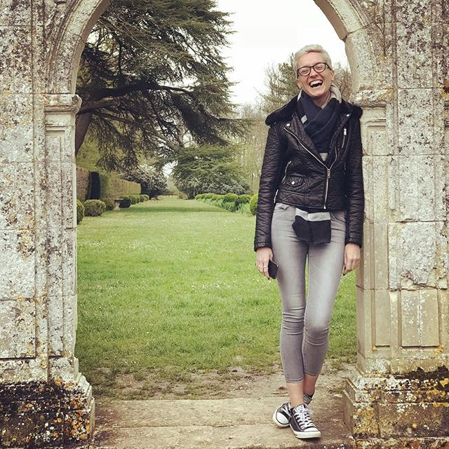 In the castle grounds #vceuroescape18 #womensfashion #womenstyle #womensstyle #fashion