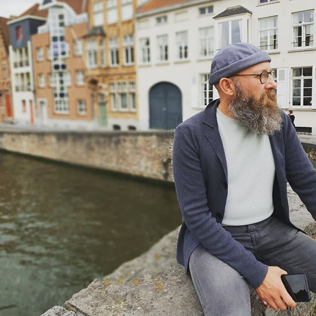 Pondering canals and waterways #menswear #menstyle #mensstyle #mensfashion #vceuroescape18