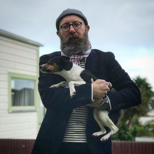 An old man and his sea dog #mensstyle #menstyle #mensfashion #fashion #menswear