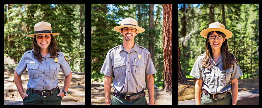Made friends with the Park Rangers.