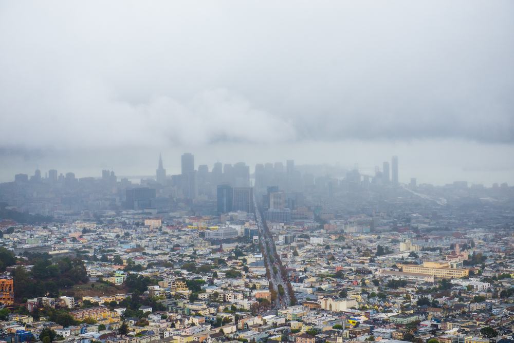 SF under its blanket