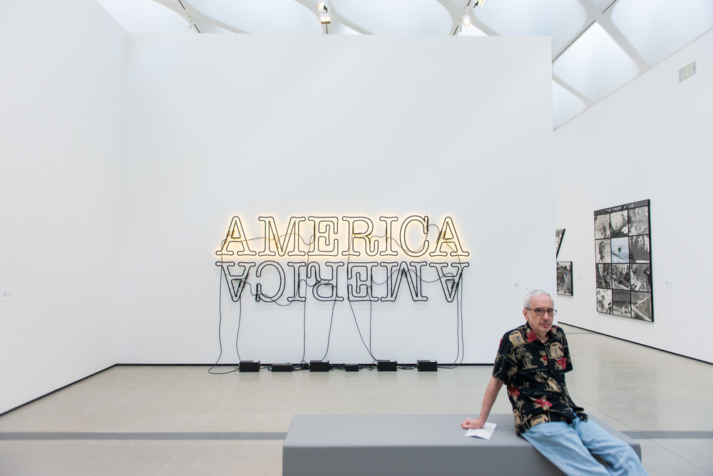 Glenn Ligon - 'Double America 2'
