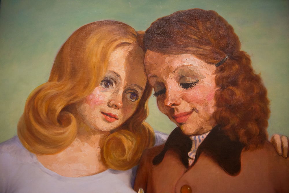 John Currin - 'Daughter and Mother'