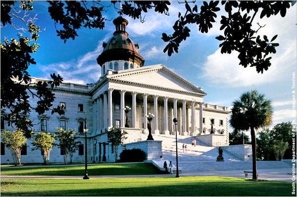 South Carolina State House Columbia SC Photograph Courtesy Of