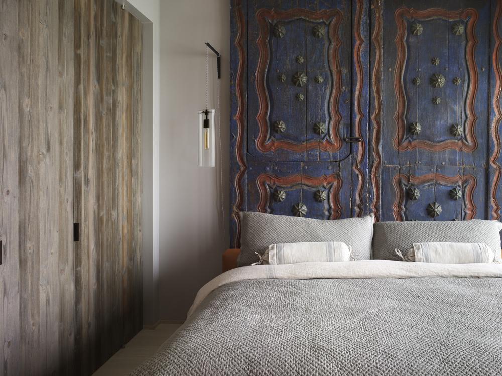 Bohemian Apartment Master Bedroom
