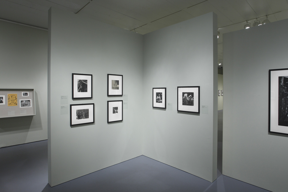 Jewish Museum Photo League Gallery Corner Wall