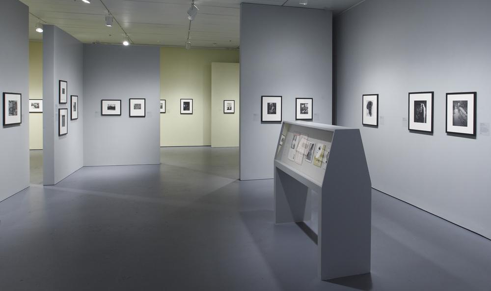 Jewish Museum Photo League Gallery Floor Vitrine