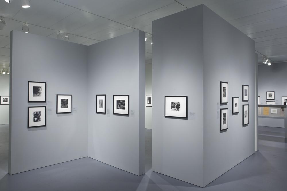 Jewish Museum Photo League Gray Walls
