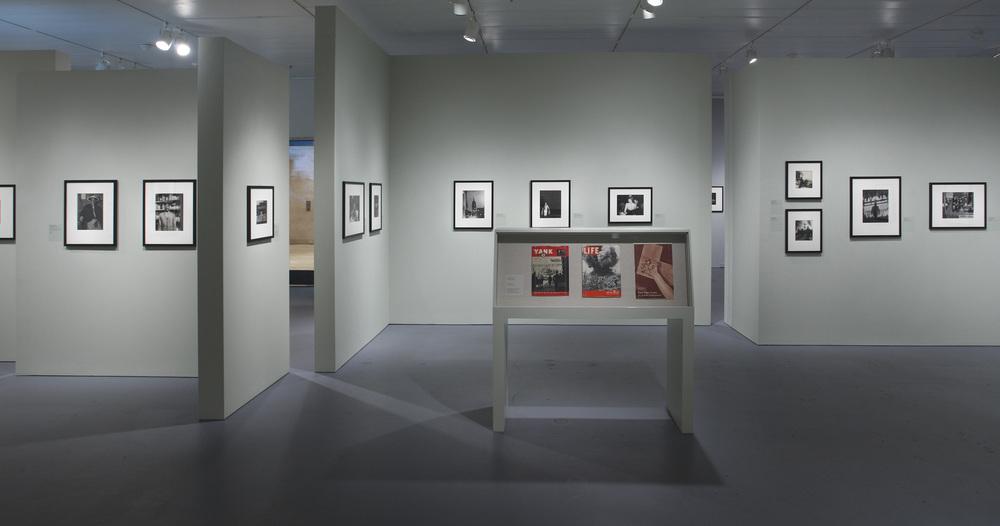 Jewish Museum Photo League Green Walls