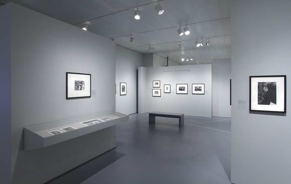 Jewish Museum Photo League Gallery Long Vitrine