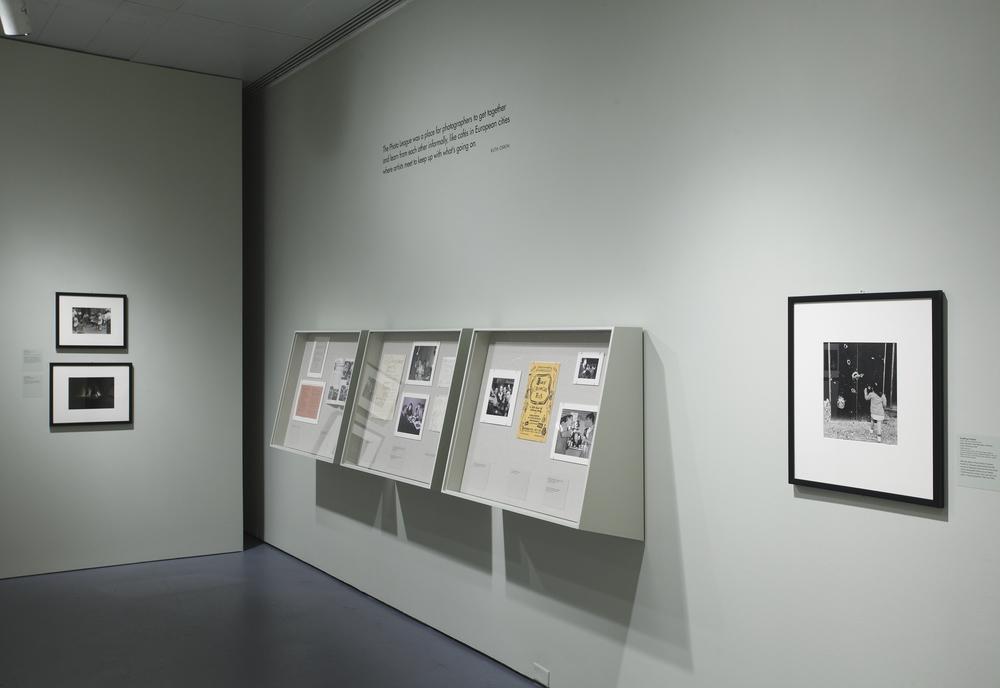 Jewish Museum Photo League Gallery Wall Vitrines