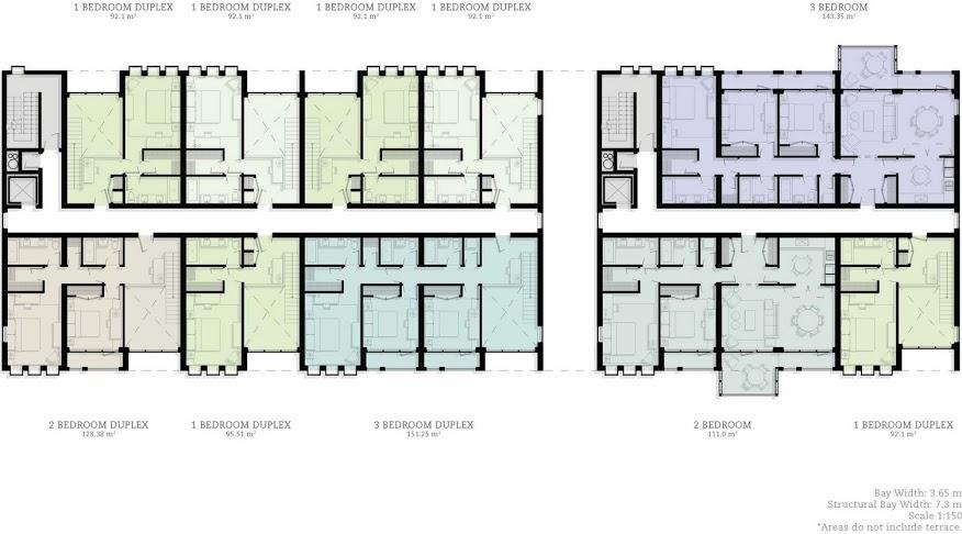 Storm Development Upper Floor Plan