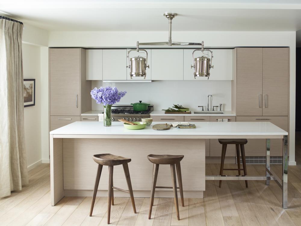101 W 87th Street Kitchen with Island