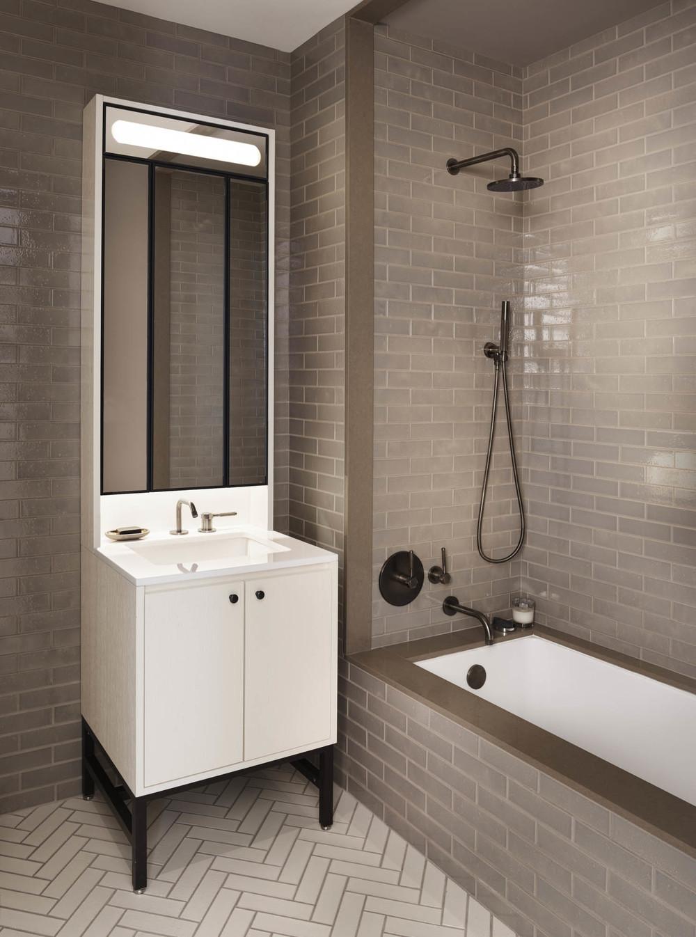 The Sutton Condominium Sales Office Bathroom