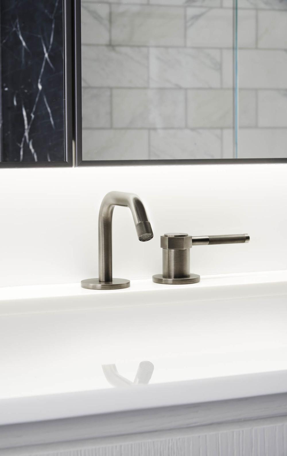 The Sutton Condominium Sales Office Sink and Faucet Detail