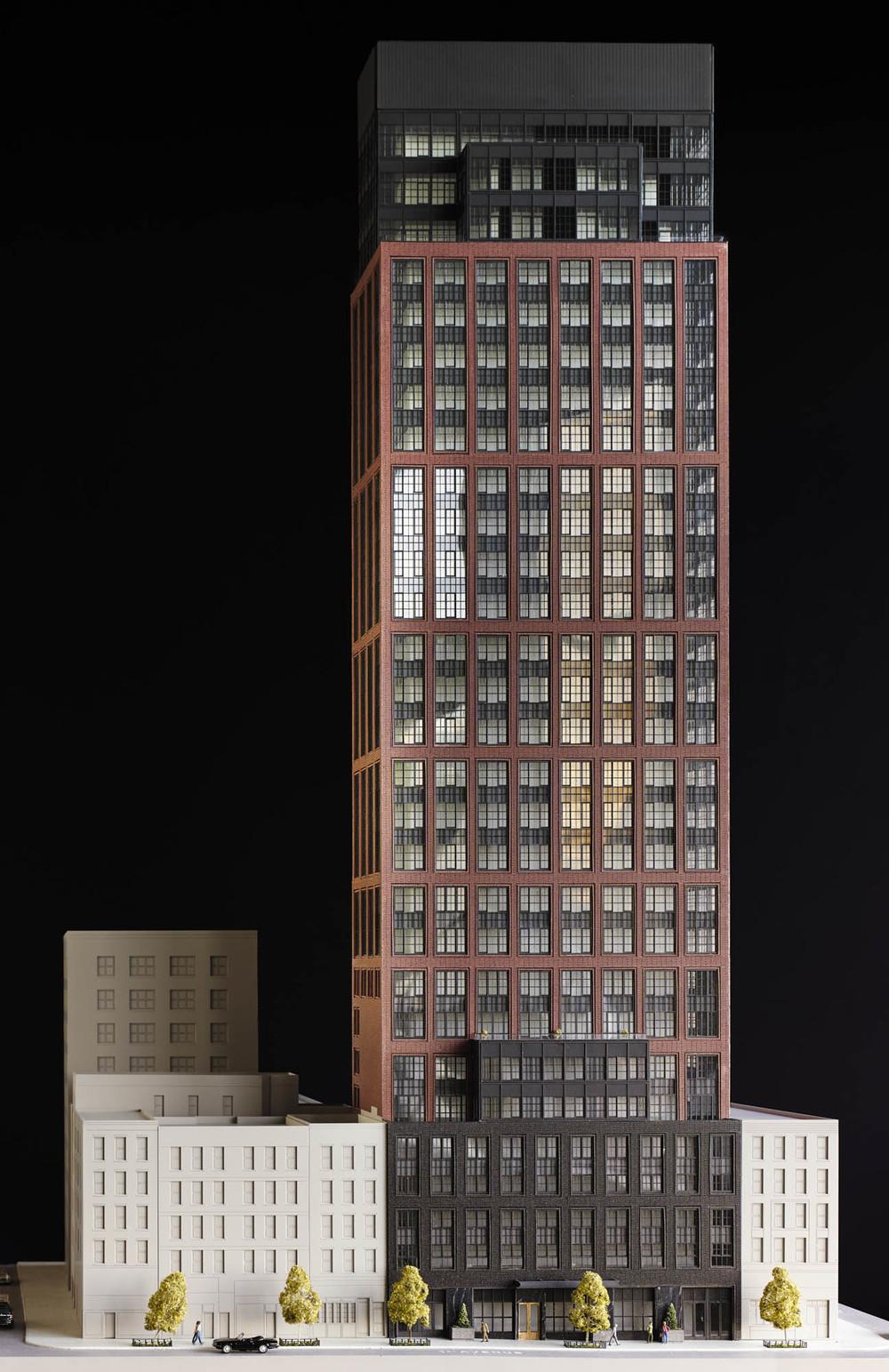 The Sutton Condominium Building Model