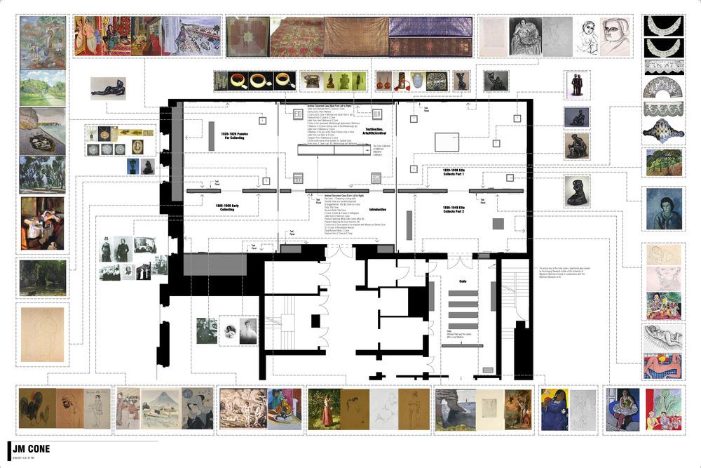 Jewish Museum Cone Sisters Gallery Floor Plan