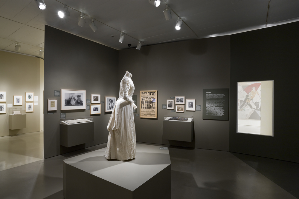 Jewish Museum Russian Theater Exhibit White Dress