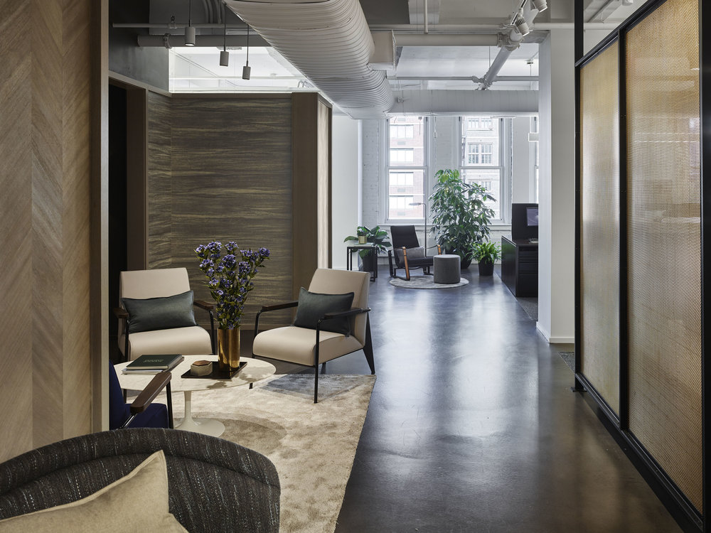 Corcoran Chelsea Office Hallway