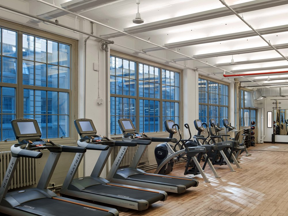 Industry City Athletic Club Cardio Machines