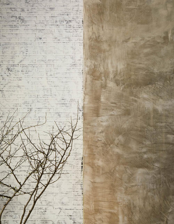 The Sutton Condominium Lobby Wall Detail