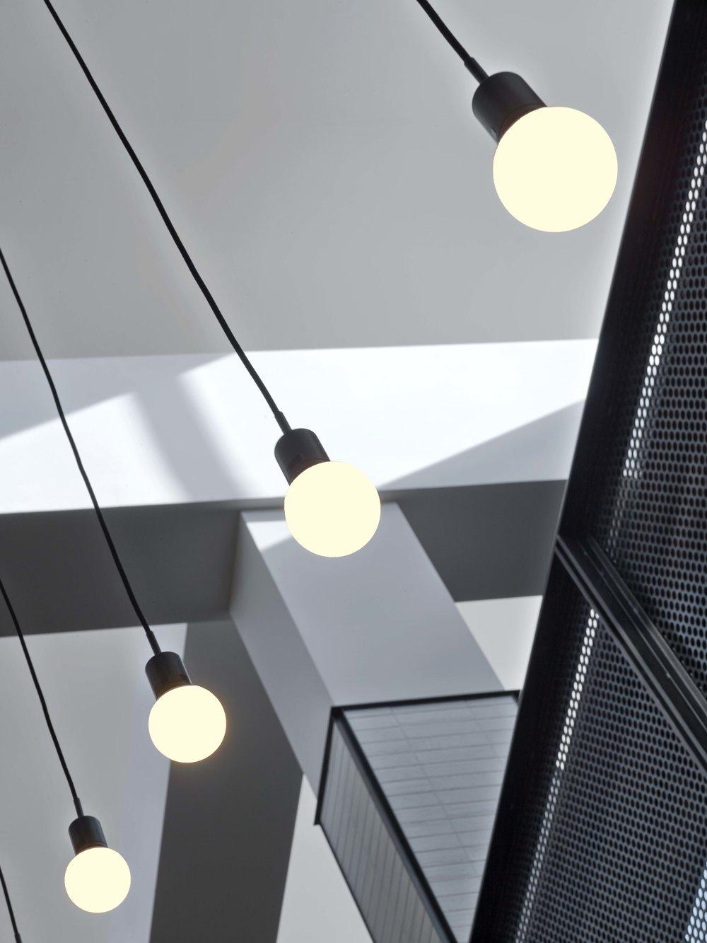 Equinox Williamsburg Stair Light Detail