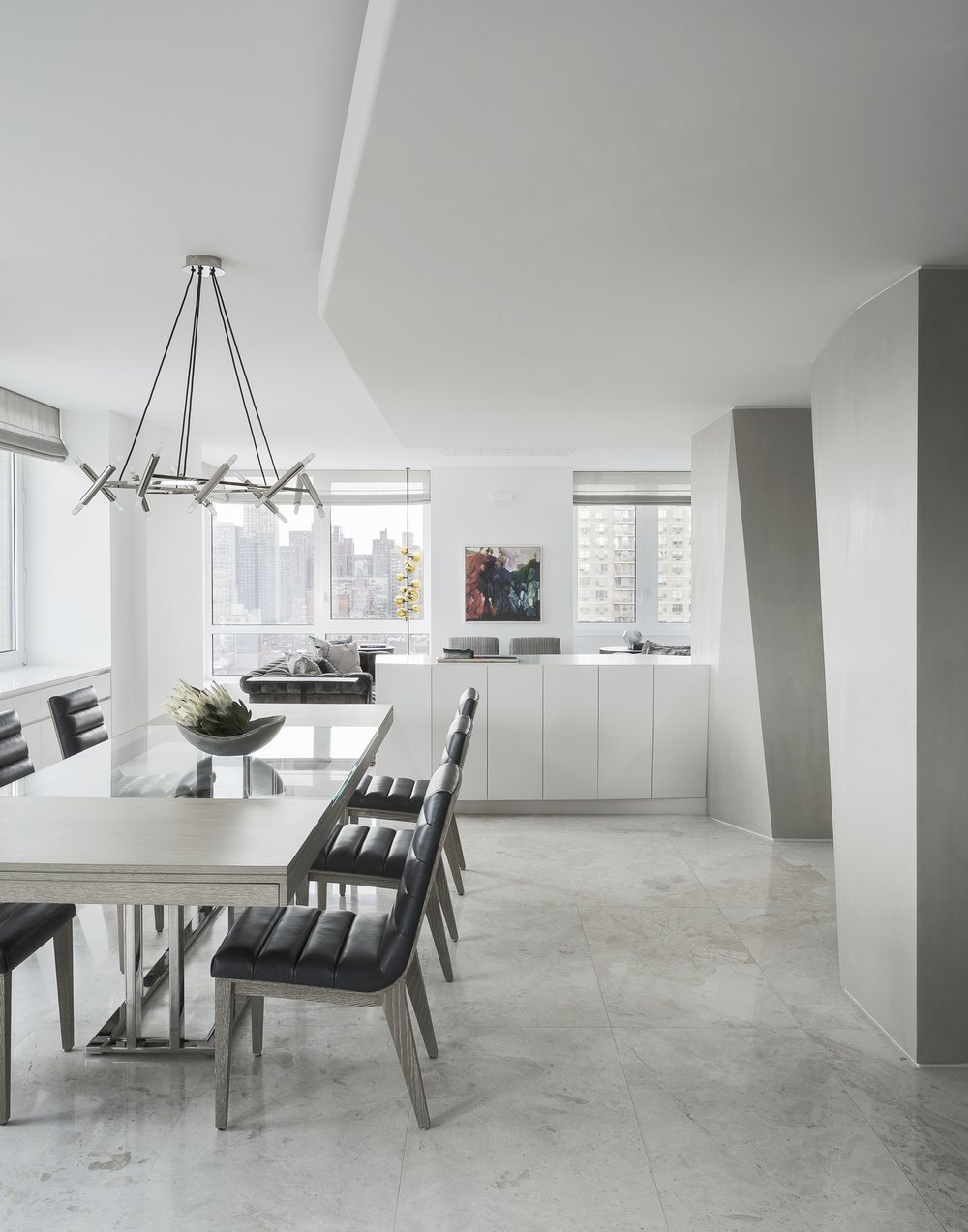 East 77th Street Apartment Dining Room