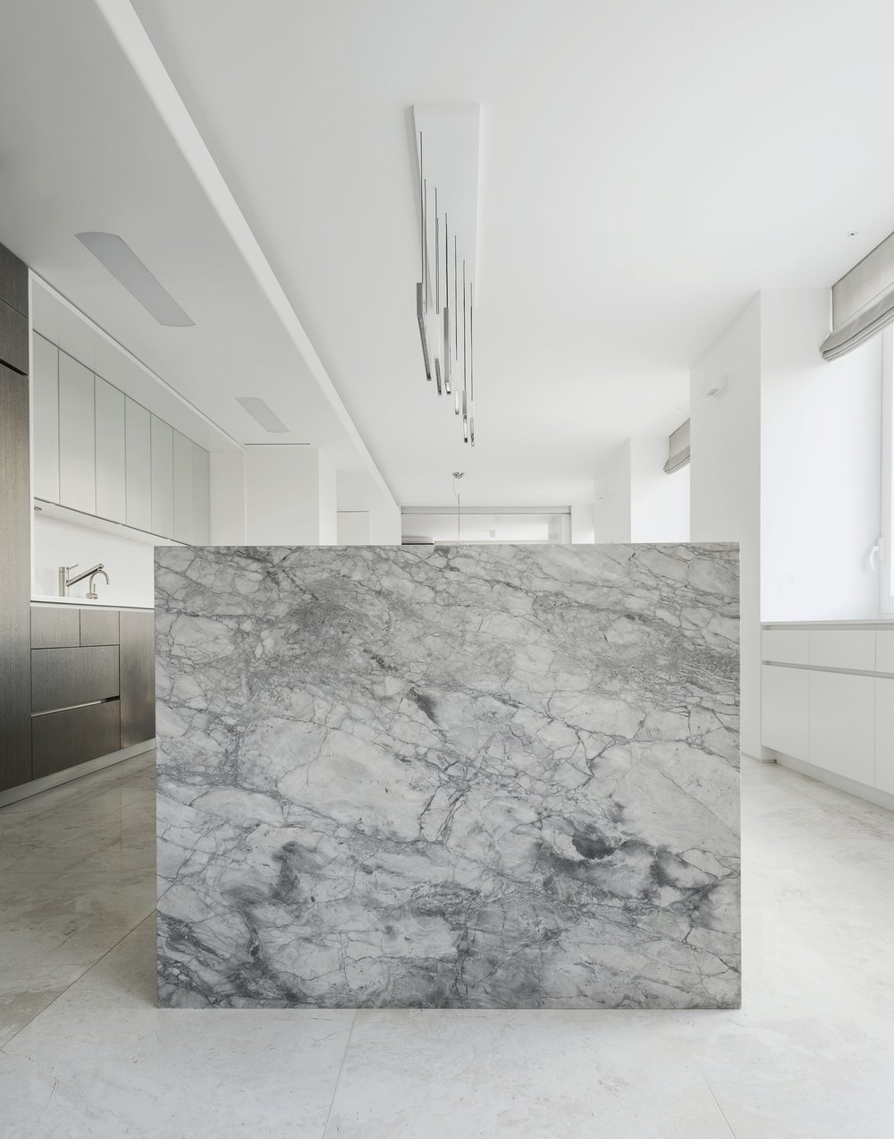 East 77th Apartment Kitchen Island