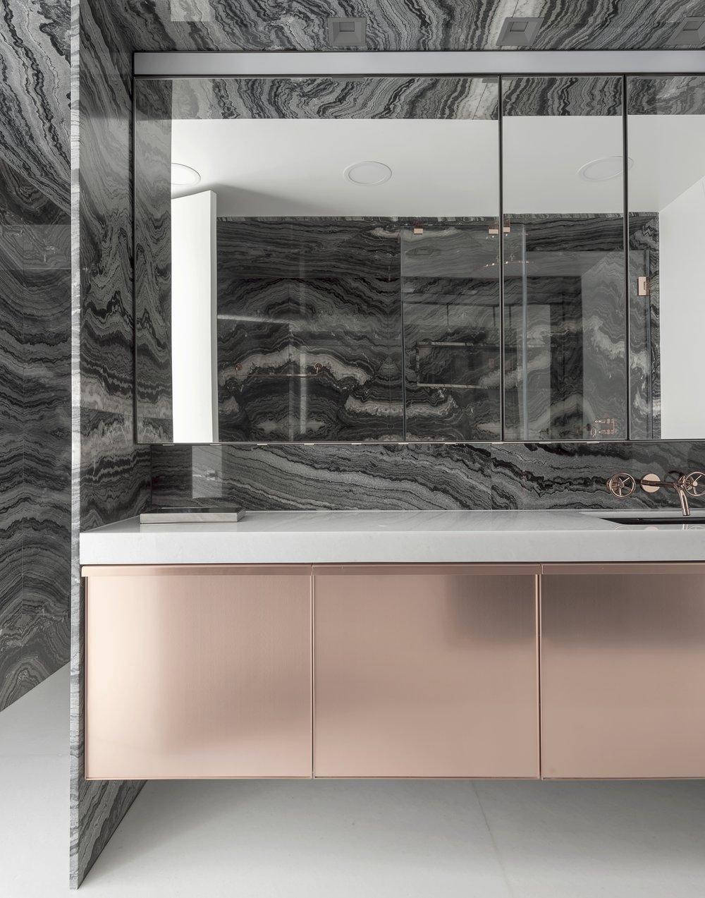 East 77th Apartment Bathroom Sink and Vanity