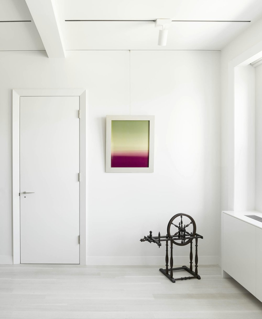 CPW Apartment Bedroom Door and Painting