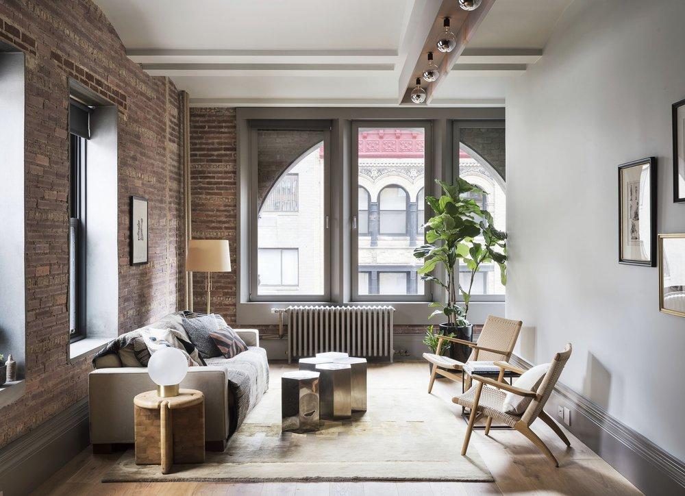 12th Street Loft Living Room
