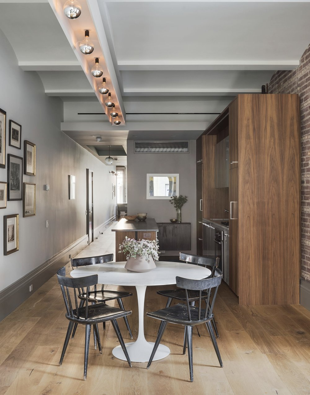 12th Street Loft Kitchen with Table