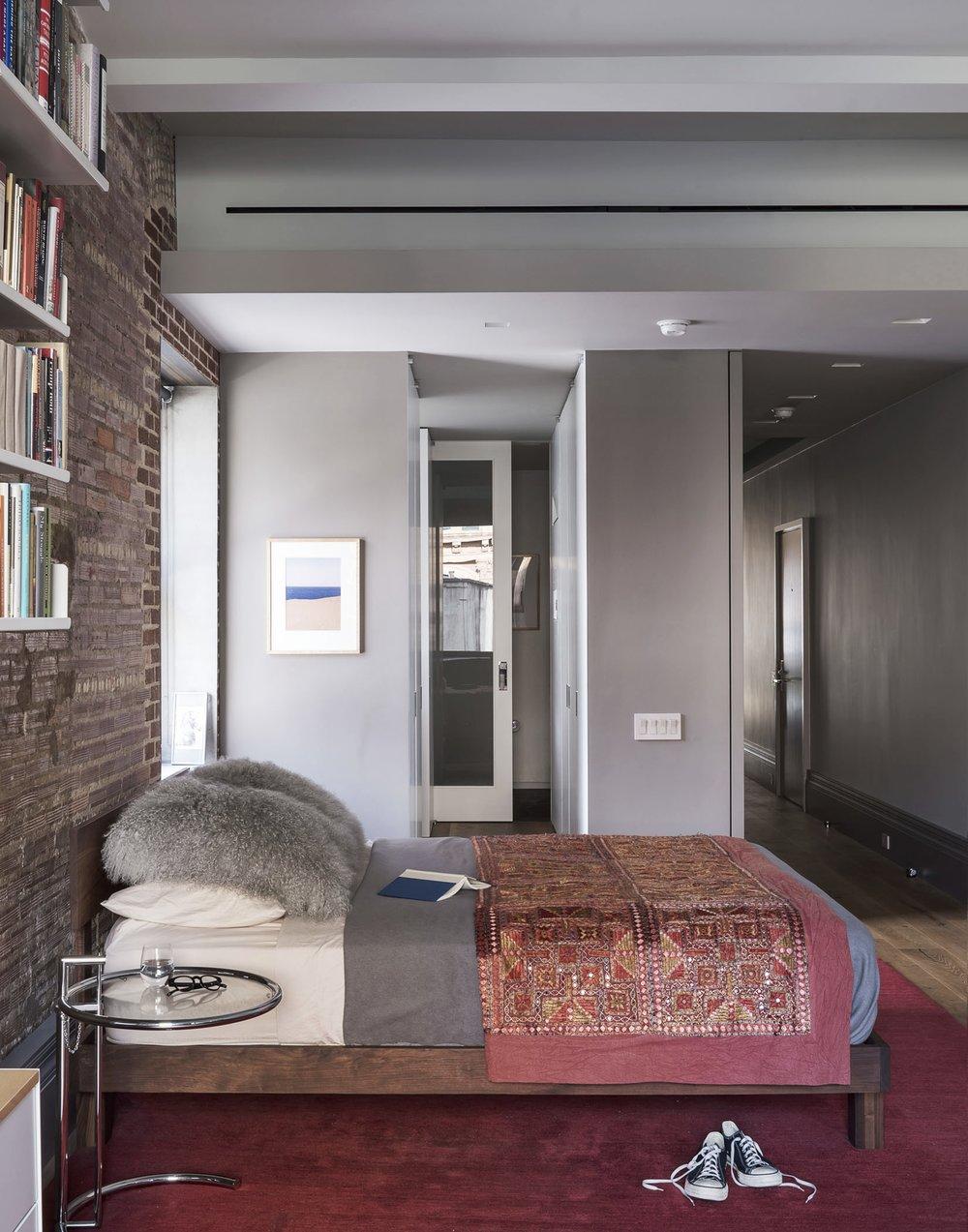 12th Street Loft Master Bedroom