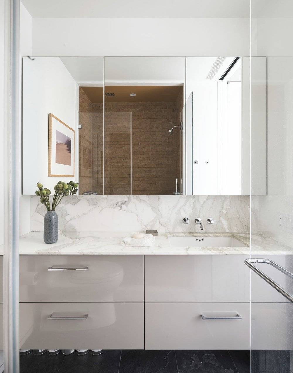 12th Street Loft Master Bathroom