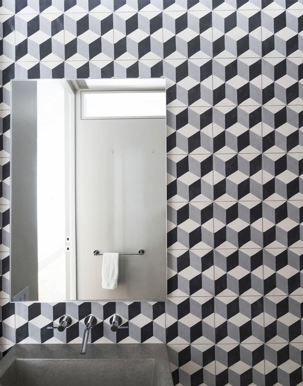 12th Street Loft Guest Bathroom