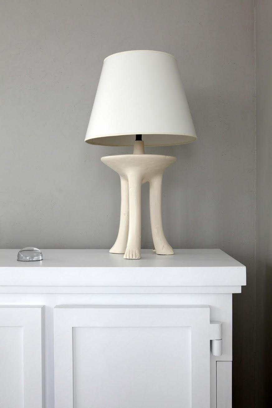 Warren Apartment Lamp on Credenza