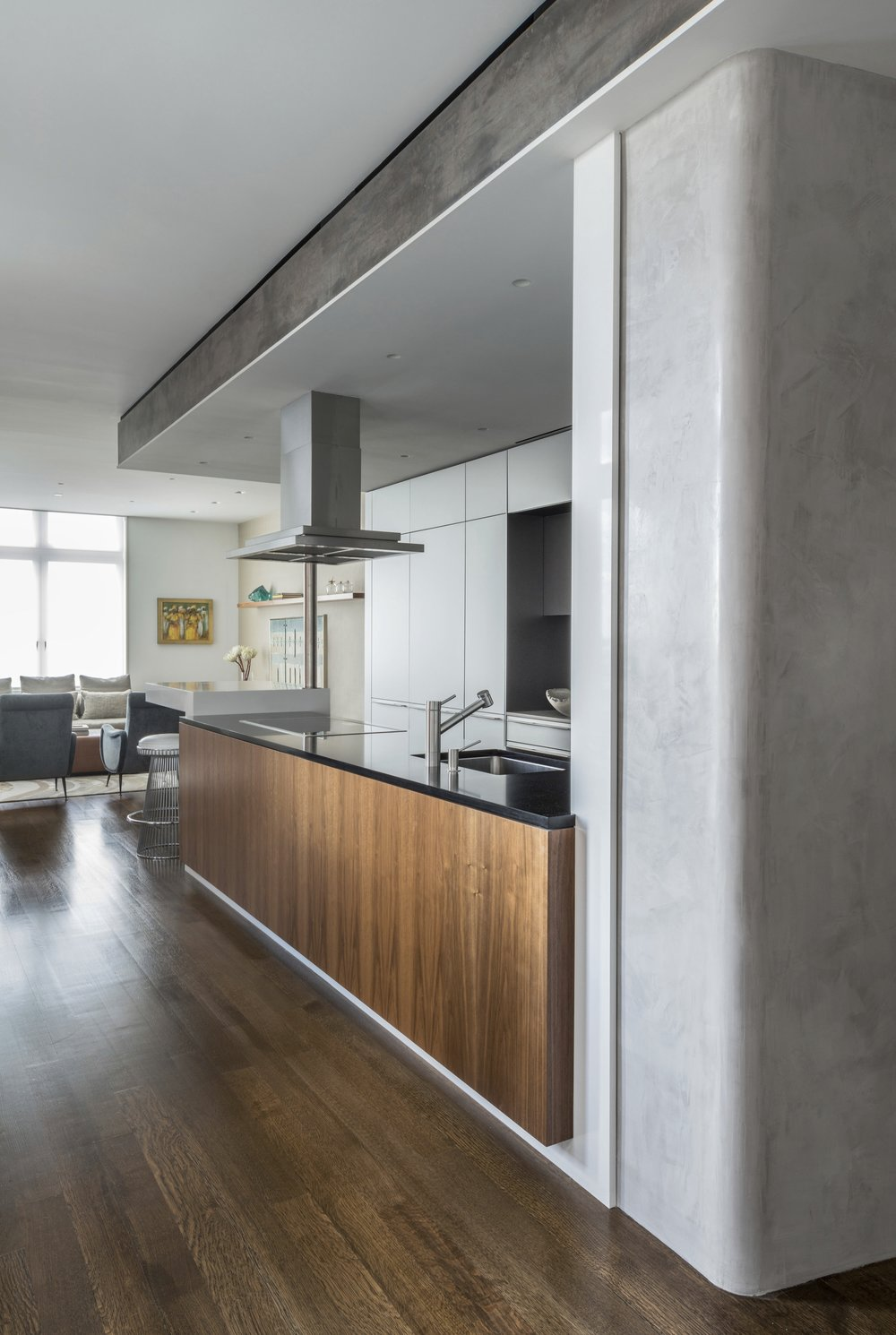 Laight Street Apartment Kitchen