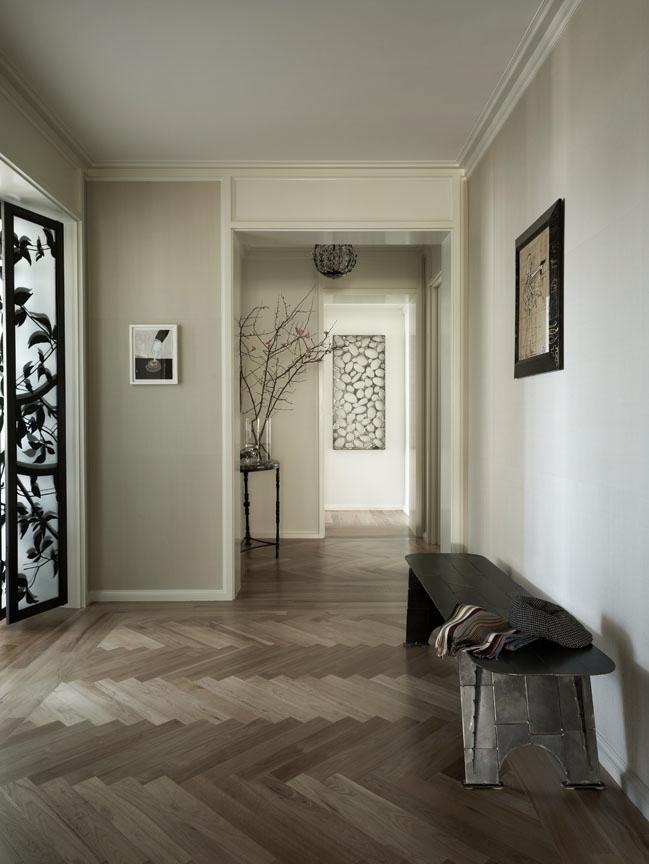 Carnegie Hill Apartment Foyer
