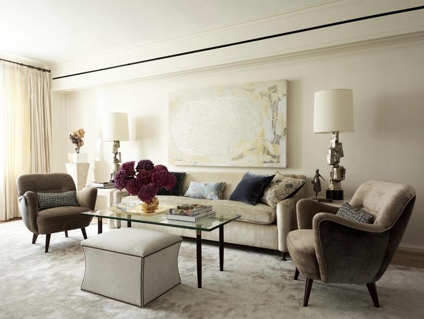 Carnegie Hill Apartment Living Room