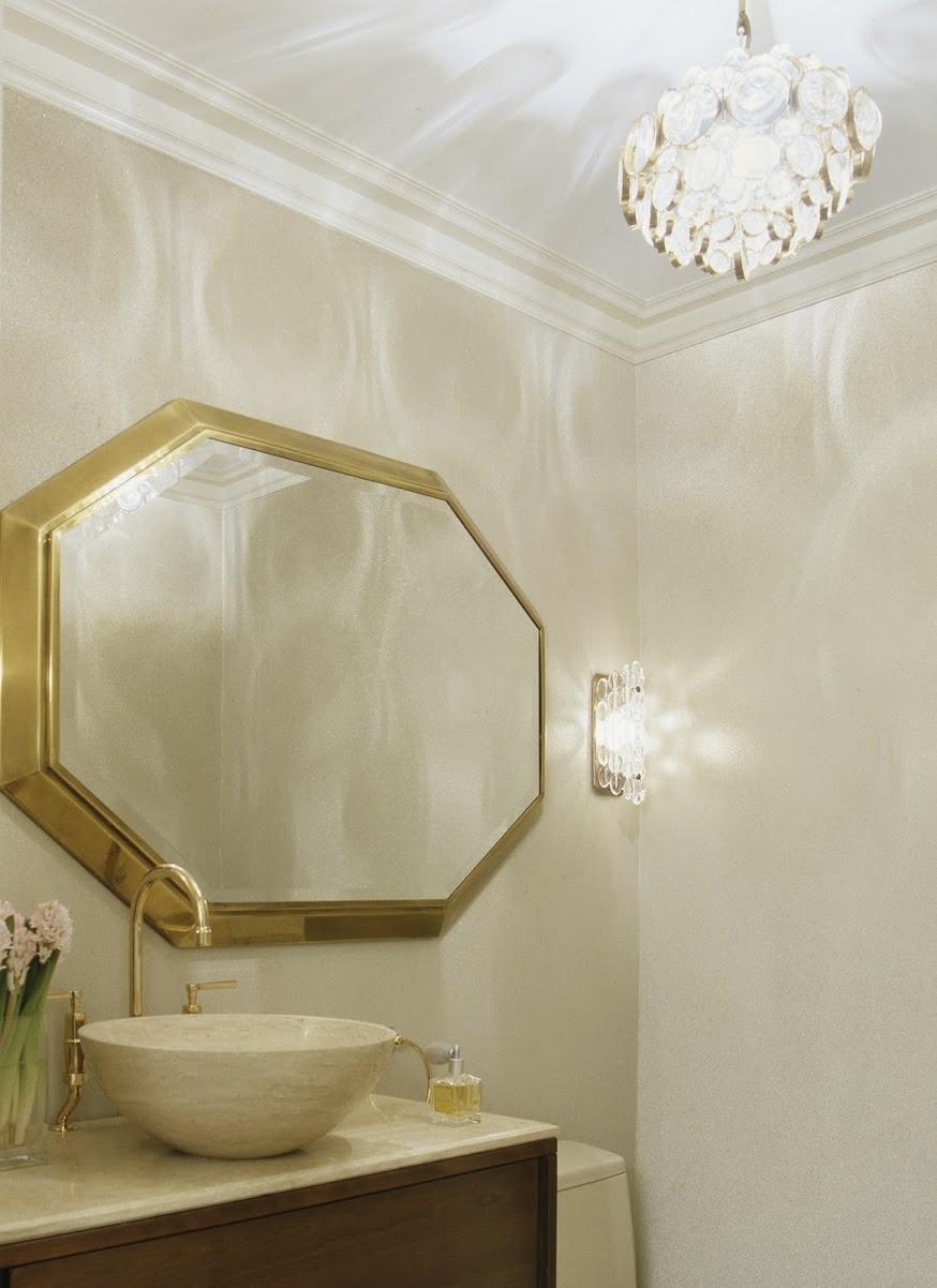 Carnegie Hill Apartment Powder Room