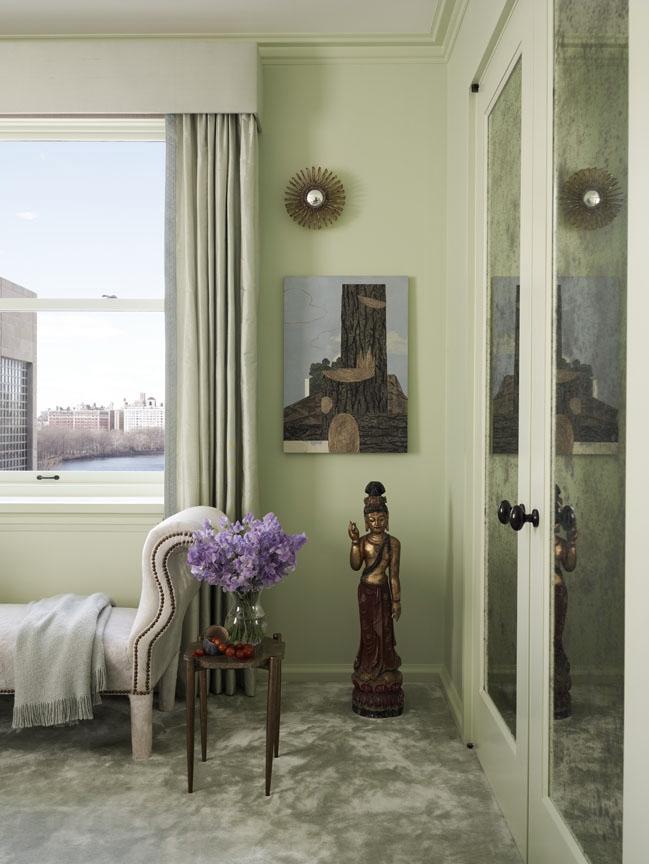 Carnegie Hill Apartment Master Bedroom Detail