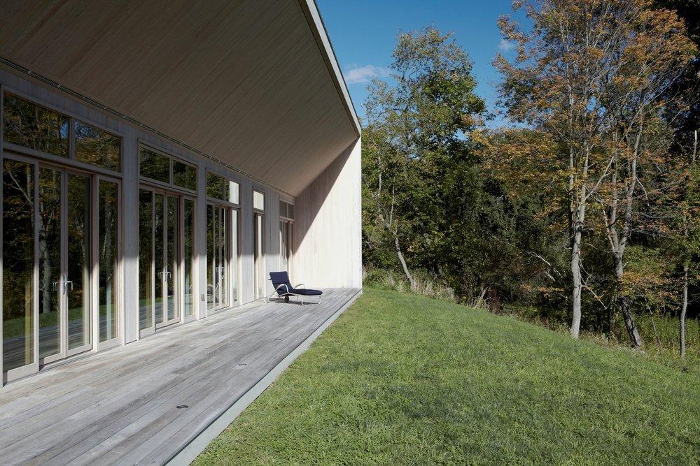 Confluence House Exterior Deck