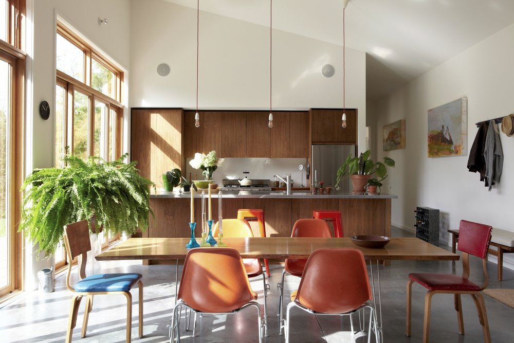 Confluence House Kitchen and Dining Table
