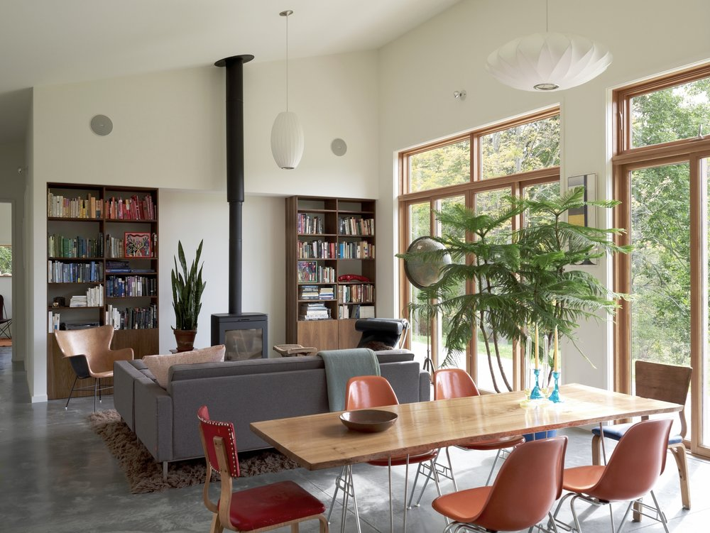 Confluence House Living Room and Dining Table