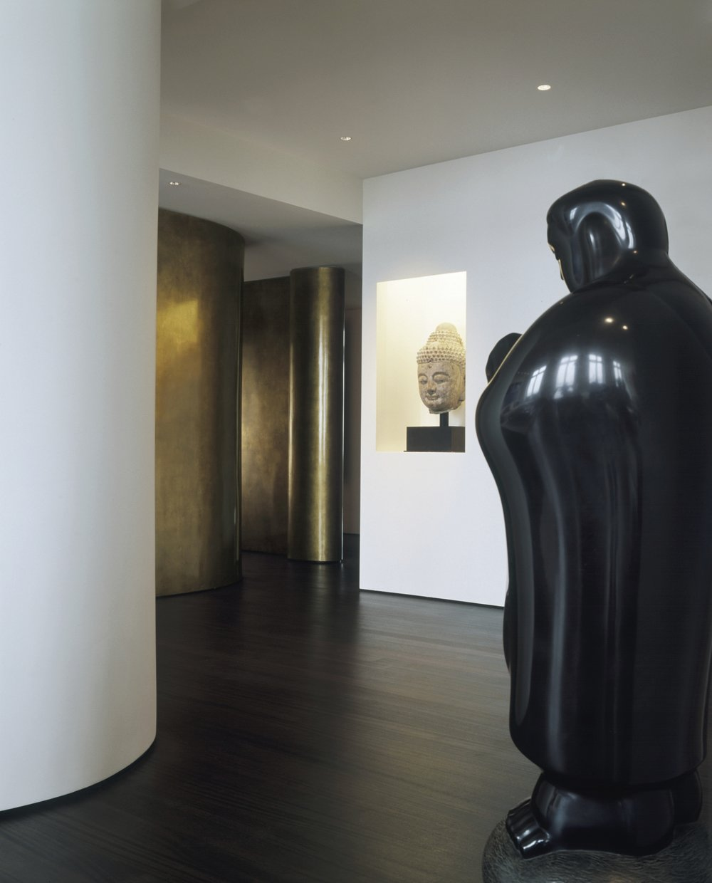 Laight Apartment Foyer and Statue