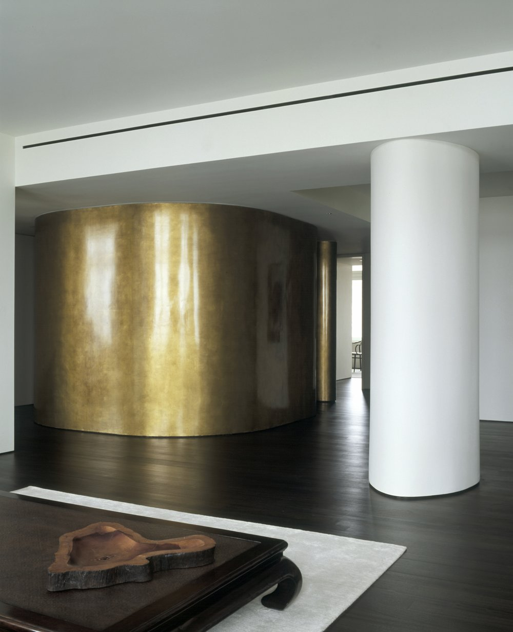 Laight Apartment Gold Wall