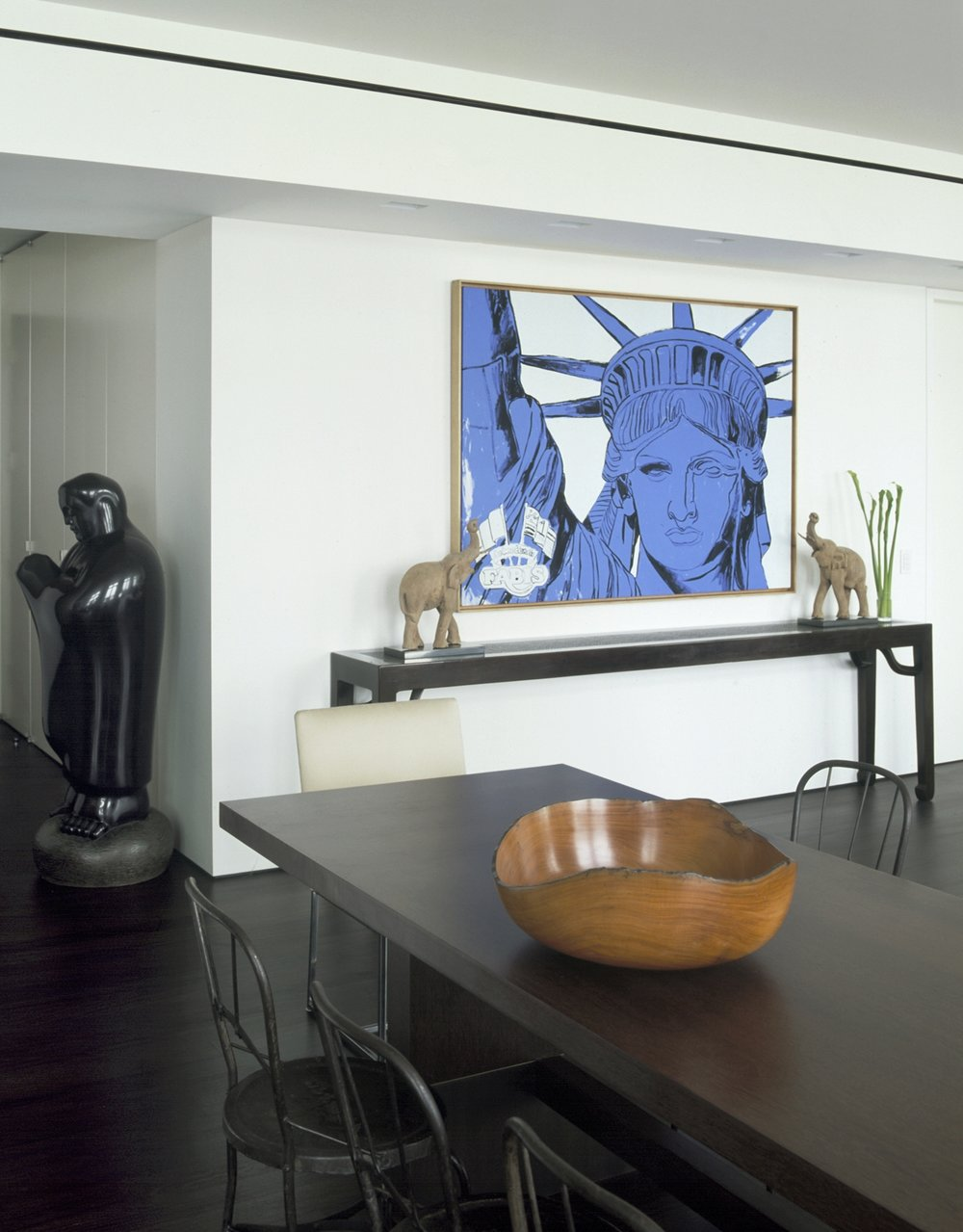 Laight Apartment Dining Area