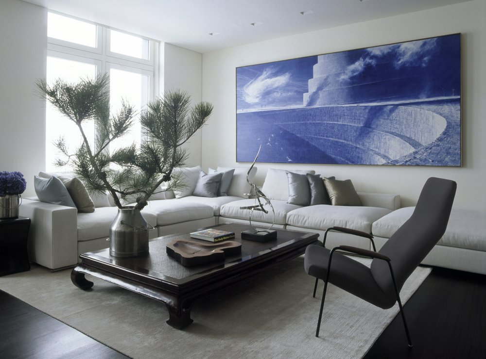 Laight Apartment Living Room